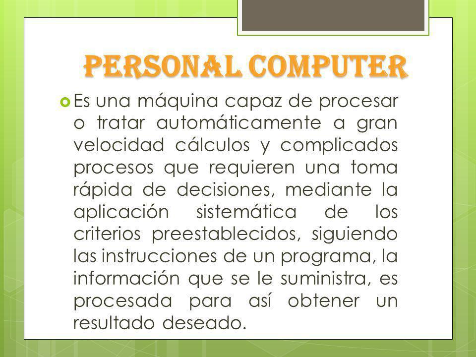 Software es todo el conjunto intangible es el equipamiento lógico como los programas y datos que almacena la computadora Hardware son los componentes y dispositivos físicos y tangibles que forman una computadora.