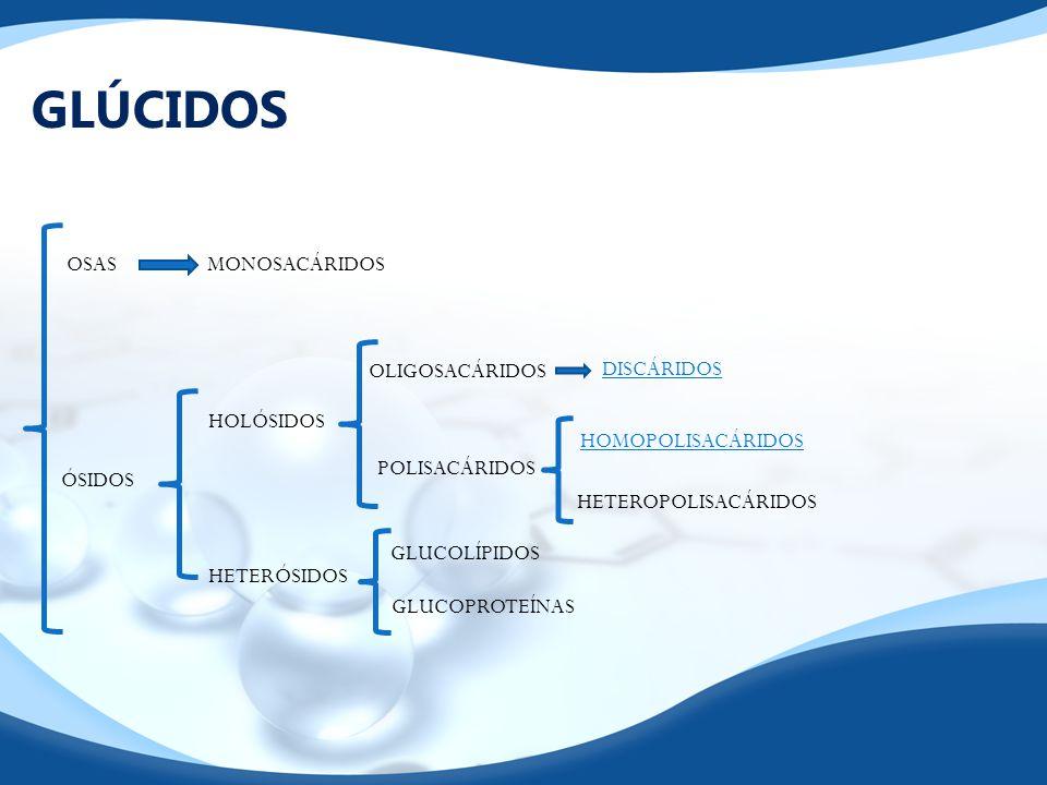 POLISACÁRIDOS (HOMOPOLIACÁRIDOS) Largas cadenas de monosacáridosENLACE O-GLUCOSÍDICO αßαß Débiles.