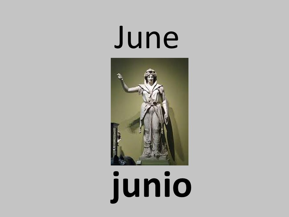 June junio
