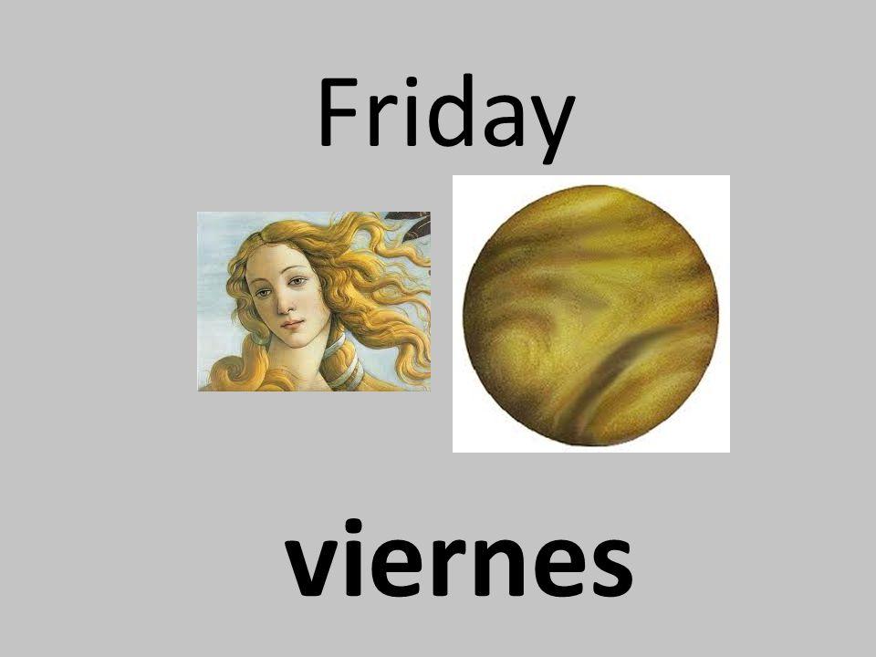 Friday viernes