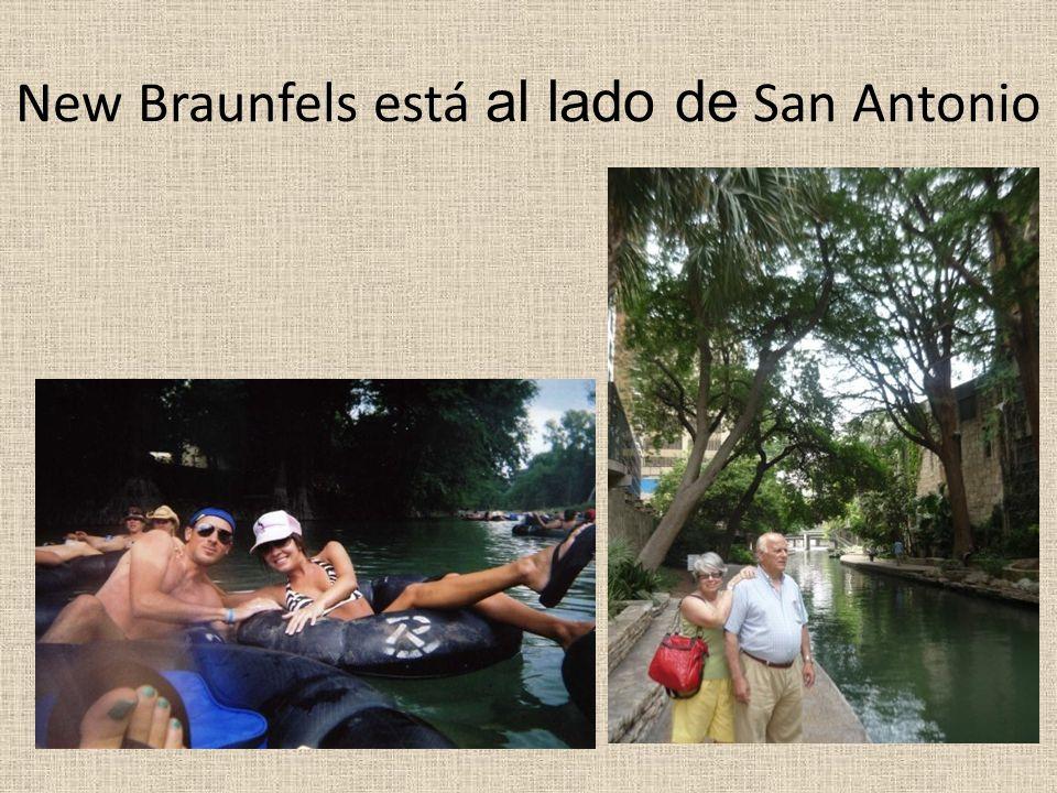 New Braunfels está al lado de San Antonio