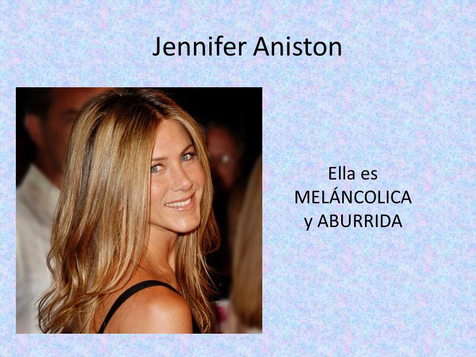 Jennifer Aniston Ella es MELÁNCOLICA y ABURRIDA
