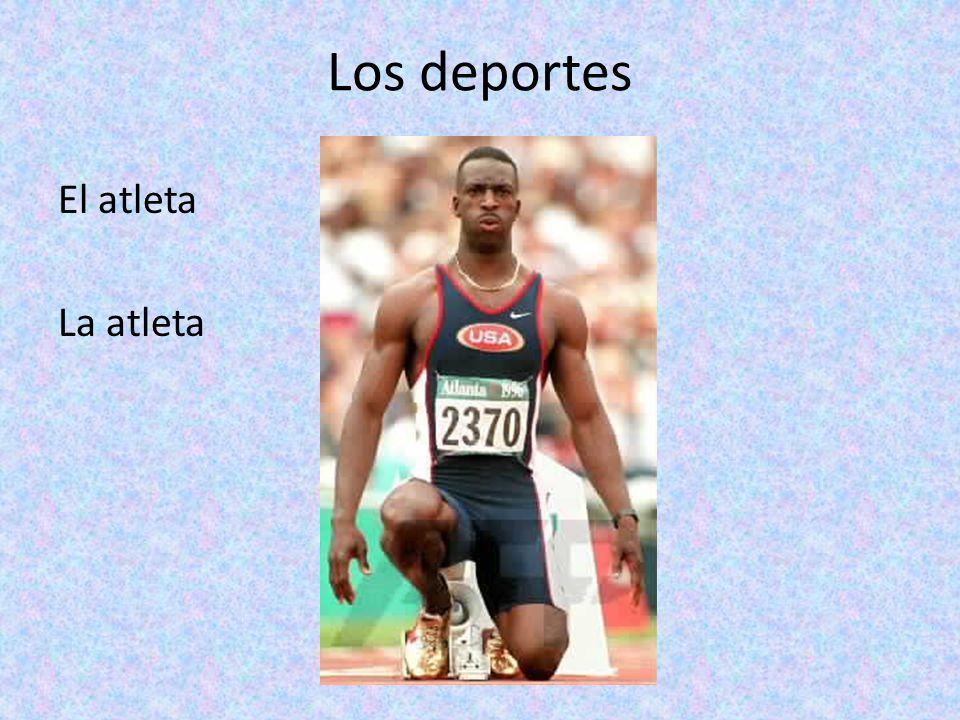 Los deportes El atleta La atleta