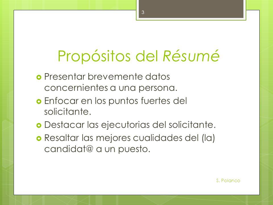 Preguntas a contestarnos S.Polanco 4 ¿Quién soy. ¿Qué objetivos persigo en la búsqueda de empleo.