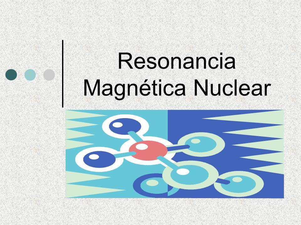 Resonancia magnética nuclear (rmn) es una técnica que se utiliza para indicar la posición de los protones (H) en una molécula orgánica.