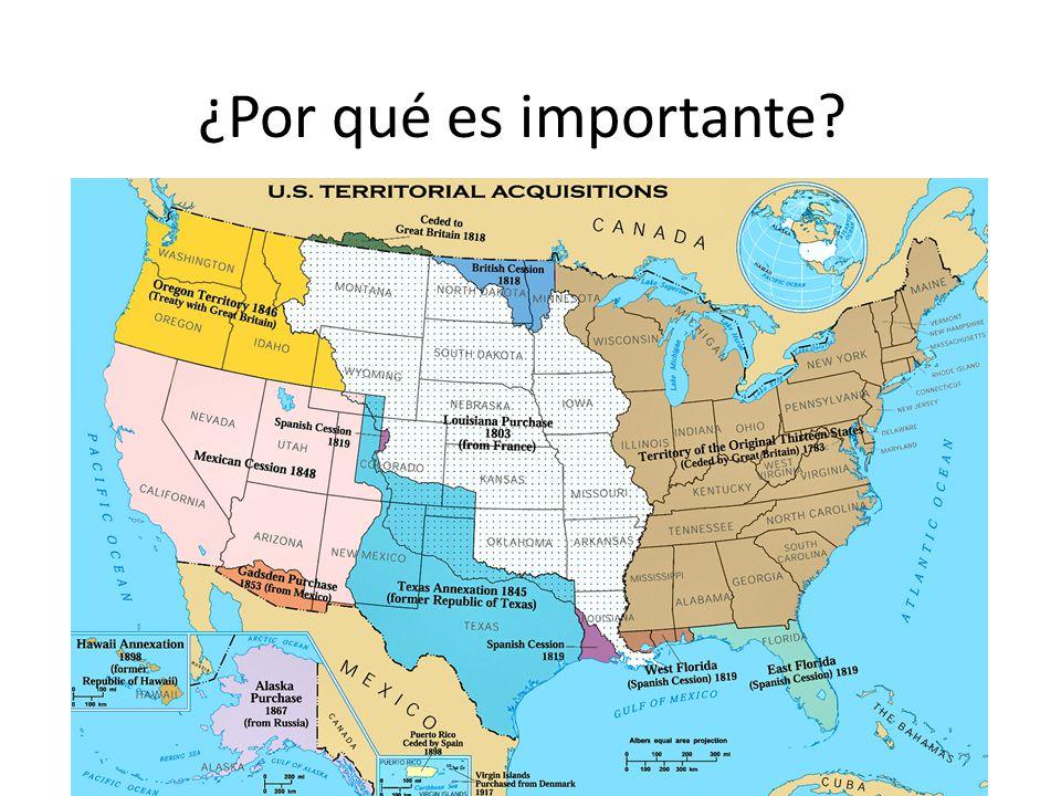 El territorio de Oregon Originalmente España, Rusia, Gran Bretaña y EE.UU.