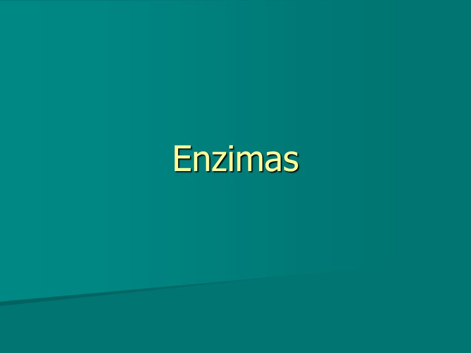 Se requieren mínima cantidad enzimático para actuar Se requieren mínima cantidad enzimático para actuar
