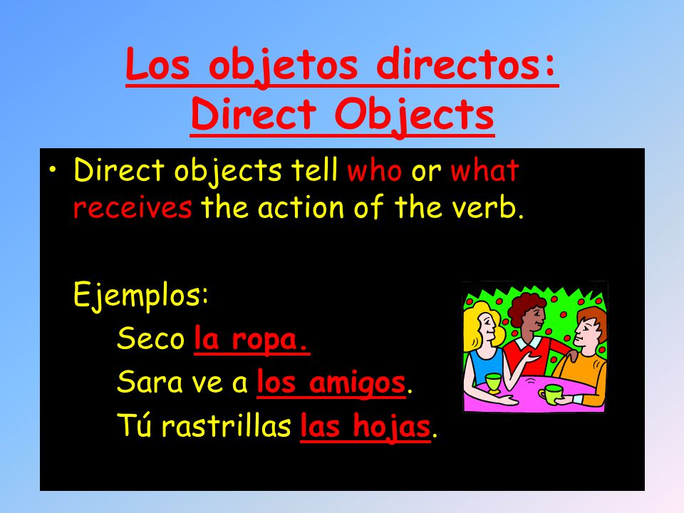 What are direct object pronouns (DOPs).