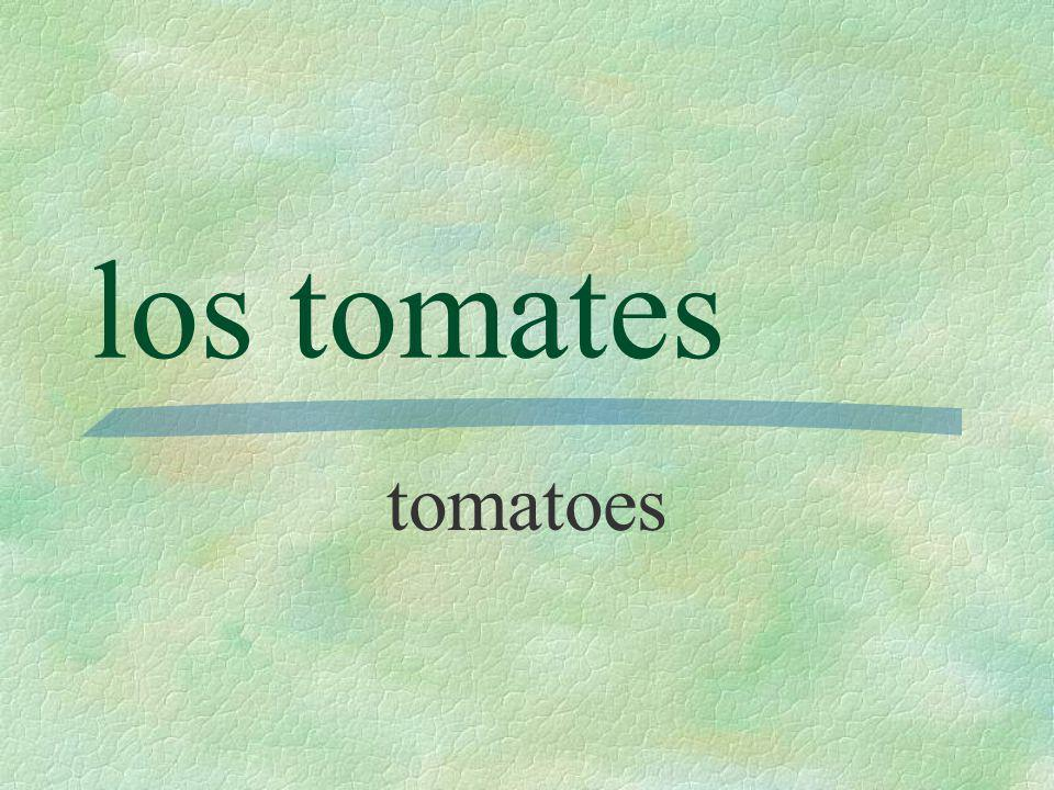 las papas potatoes