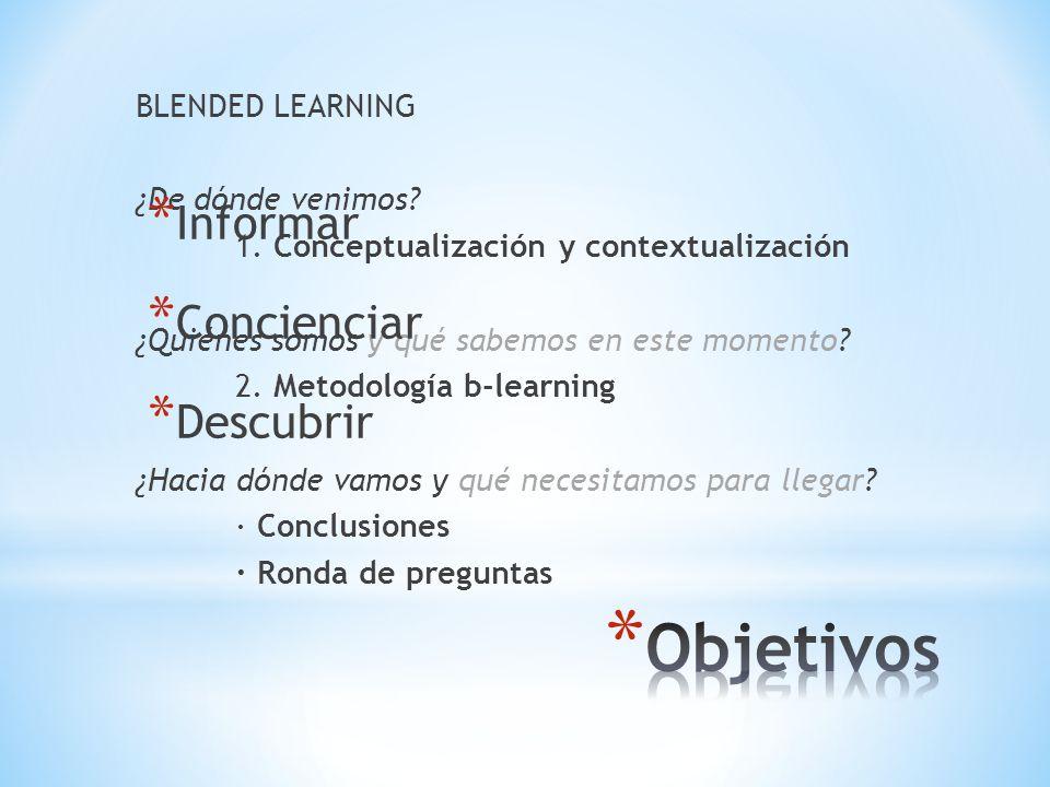 BLENDED LEARNING Isabel Sánchez Arán (Universidad de Alicante) clic