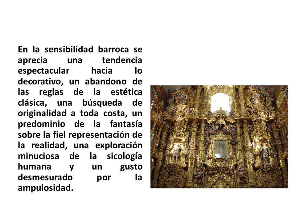 El arte barroco jugó un papel importante en los conflictos religiosos de este periodo.