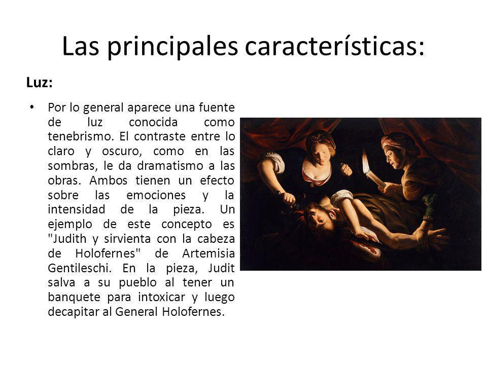 Realismo y naturalismo El realismo es un aspecto importante del arte barroco.