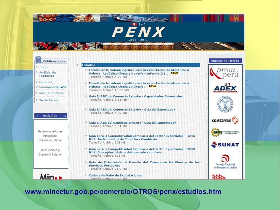 www.mincetur.gob.pe/comercio/OTROS/penx/estudios.htm