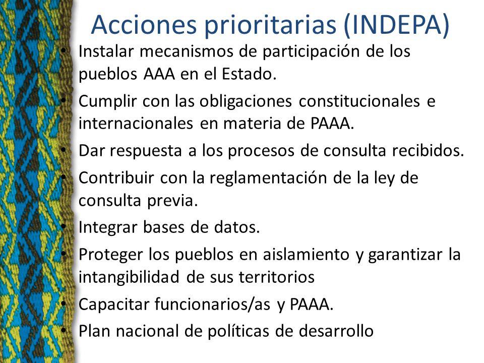 MARCO INTERNACIONAL Ratificación del Convenio 169 de la OIT Res.