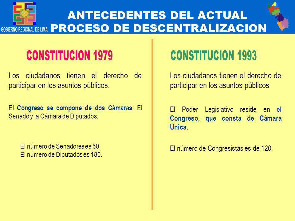 QUINTA.- Disposiciones Generales y Transitorias La distribución de diputados será entre los siguientes distritos electorales: a.- La provincia de Lima; b.- Las demás provincias del Dpto.