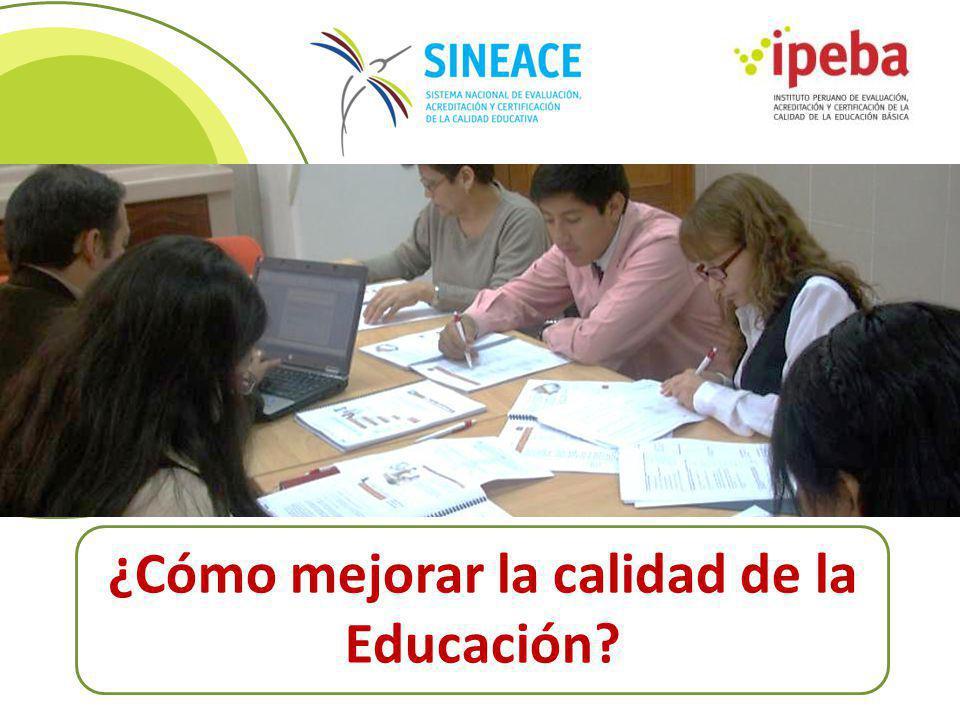 ¿Cómo mejorar la calidad de la Educación?