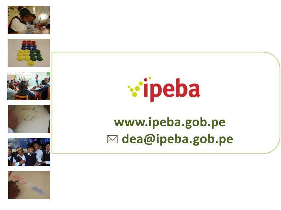 www.ipeba.gob.pe dea@ipeba.gob.pe