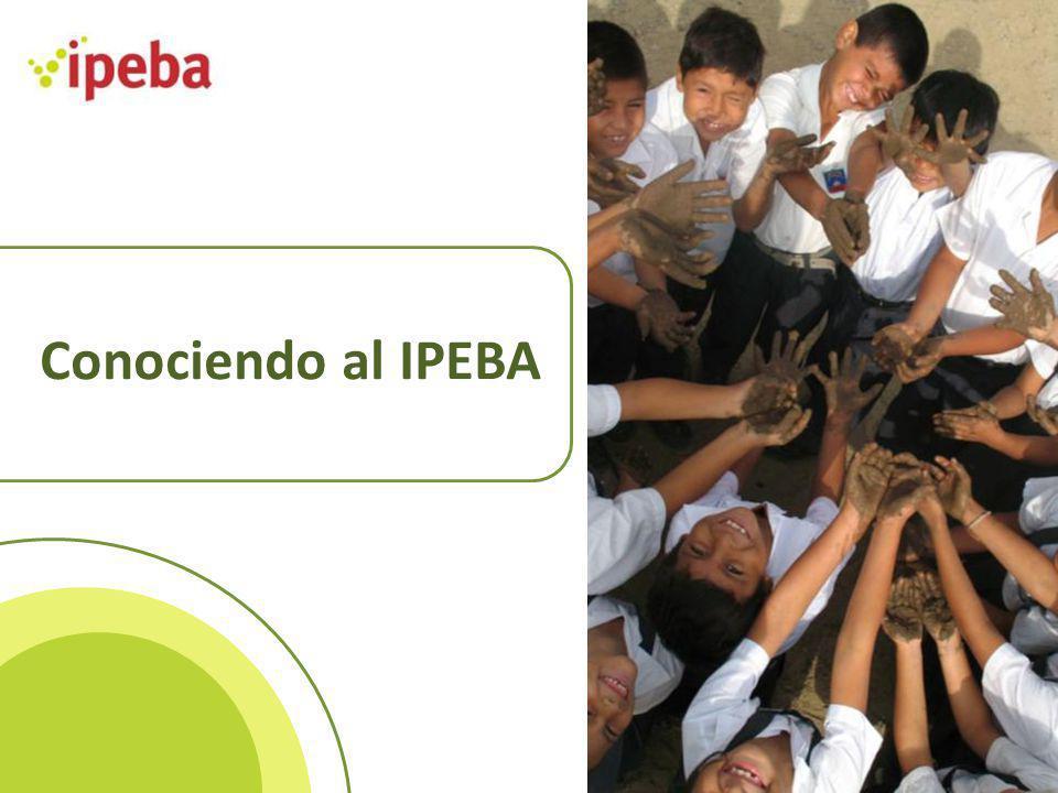 IPEBA (Instituto Peruano de Evaluación, Acreditación y Certificación de la Calidad de la Educación Básica) Evaluación y Acreditación Evaluación y Certificación Mejora de la calidad de las instituciones educativas para favorecer los aprendizajes Estándares de gestión Estándares de aprendizaje Estándares de competencias laborales Reconocimiento del capital humano del país para ser competitivos