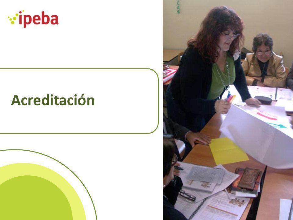 La Acreditación de la calidad de la gestión educativa ¿QUE ES LA ACREDITACIÓN.
