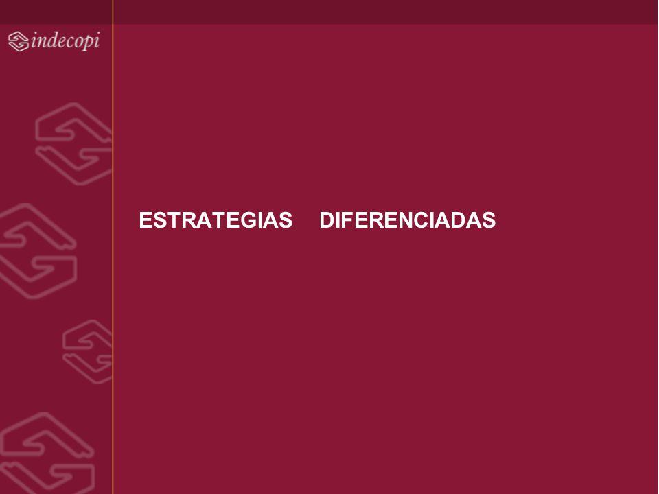 ESTRATEGIAS DIFERENCIADAS