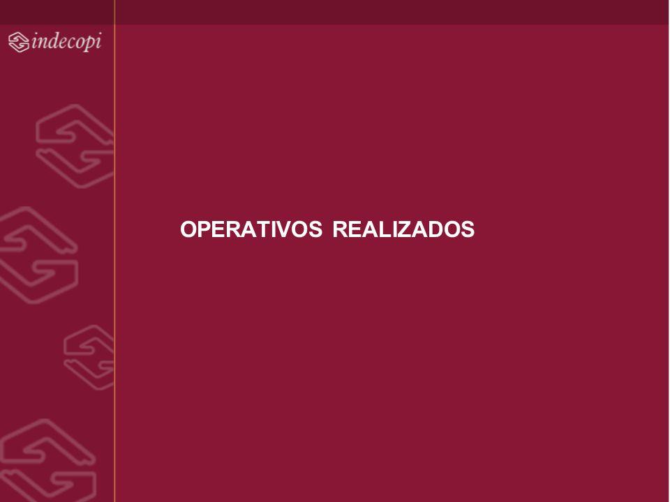 OPERATIVOS REALIZADOS