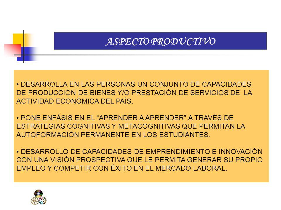 ASPECTO SOCIO CULTURAL TOMA EL CONTEXTO DONDE SE DESARROLLA EL PROCESO EDUCATIVO.