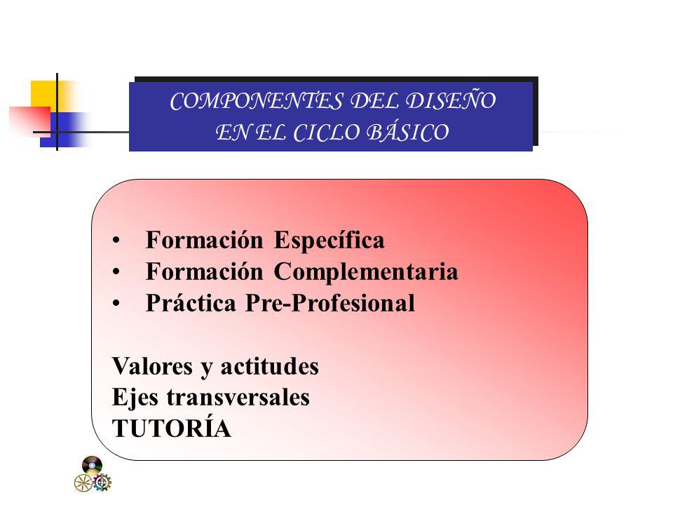 Es una unidad formativa que desarrolla capacidades en el estudiante para desempeñarse en una función productiva. En el CATÁLOGO NACIONAL DE TÍTULOS Y