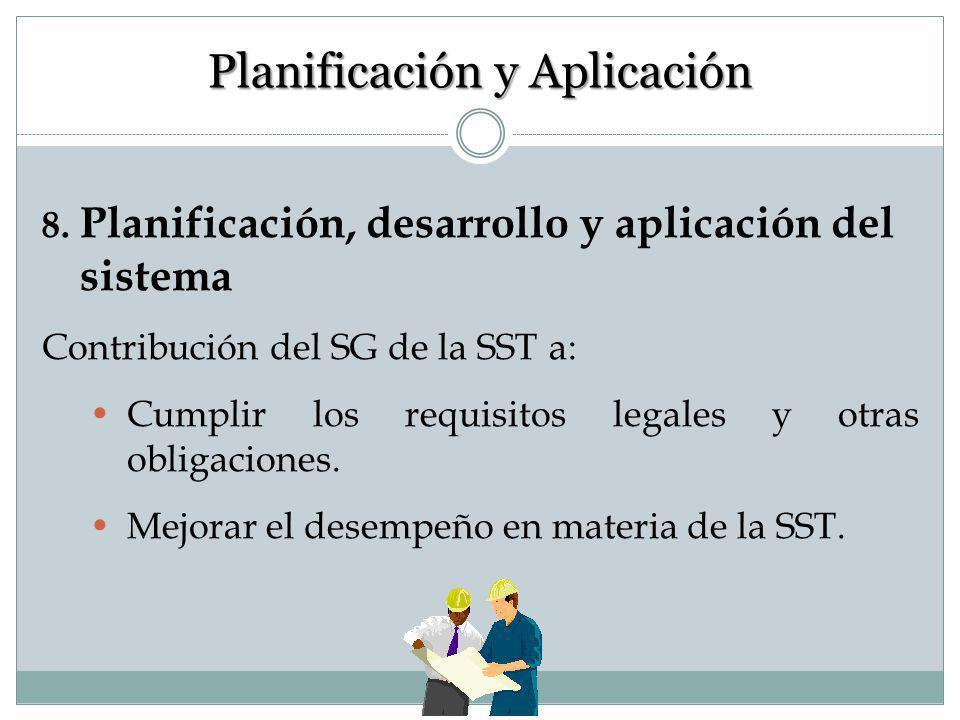 7. Examen inicial Es una revisión total de su empresa con el objeto de identificar y evaluar todos factores de riesgo presentes en SST. El resultado e