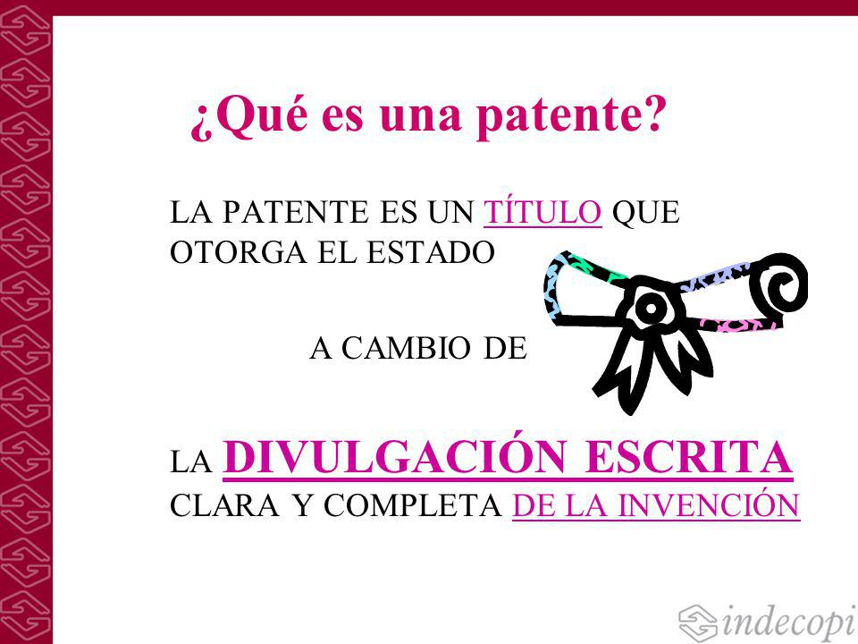 Esp@cenet Base de Datos de la Oficina Europea de Patentes http://ep.espacenet.com/ http://ep.espacenet.com/ Pagina de la Oficina Europea de Patentes www.espacenet.com