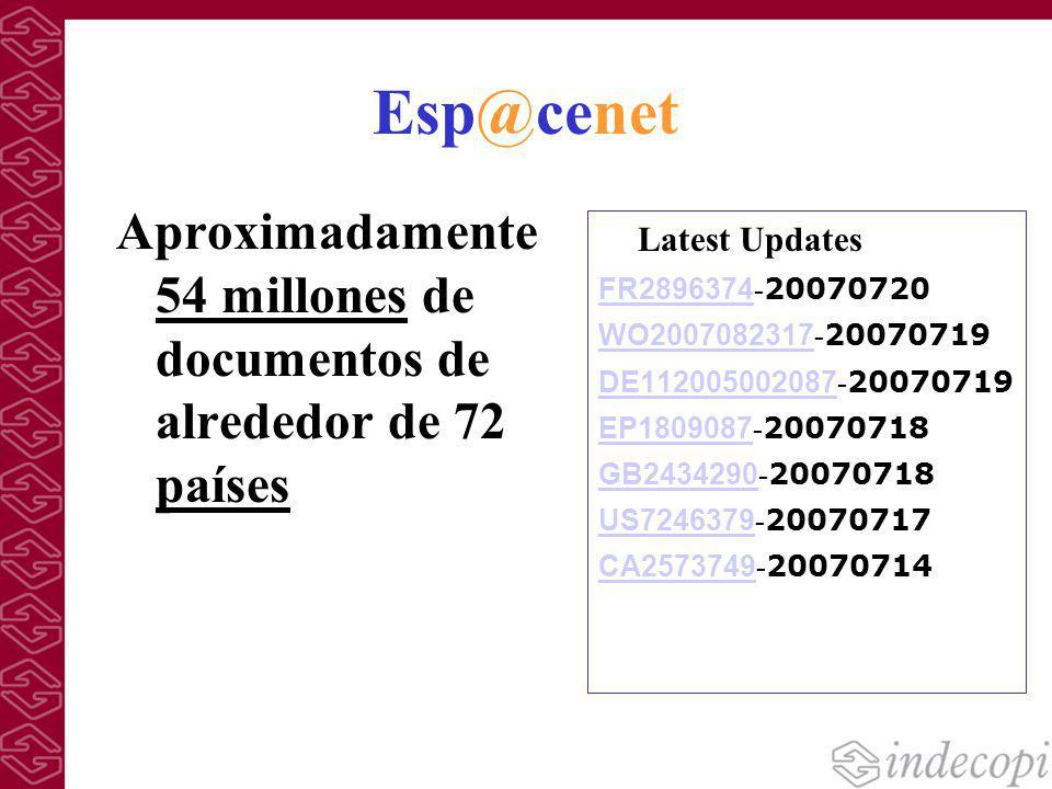 Esp@cenet Latest Updates FR2896374 FR2896374 - 20070720 WO2007082317 WO2007082317 - 20070719 DE112005002087 DE112005002087 - 20070719 EP1809087 EP1809
