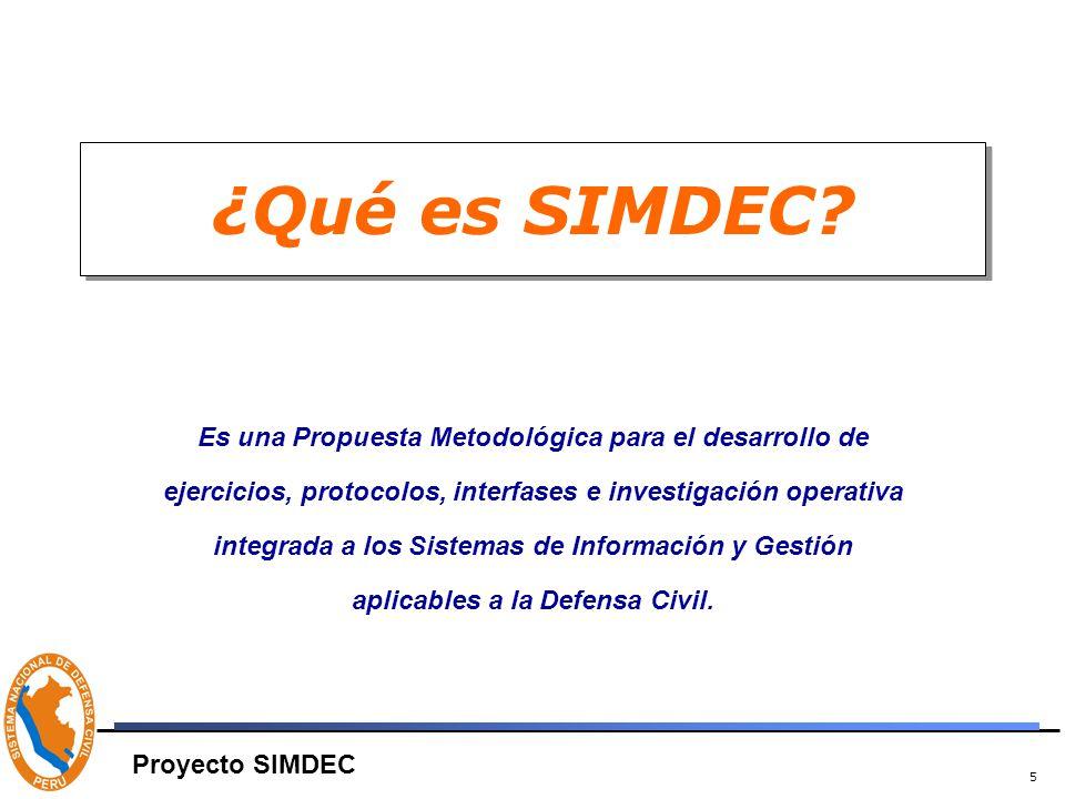 5 ¿Qué es SIMDEC.