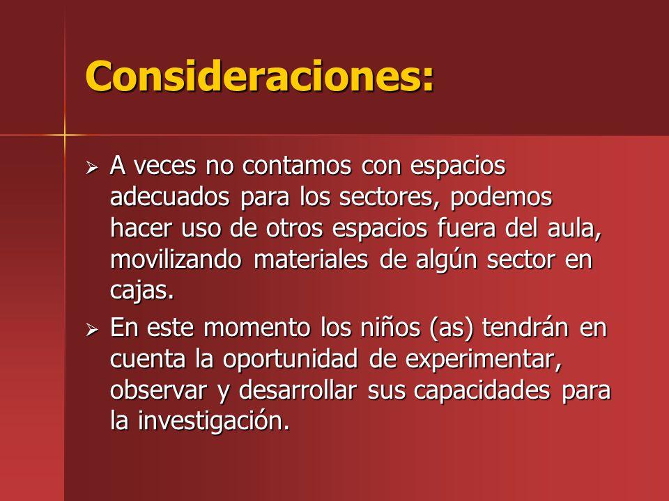 Secuencia metodologica 1) Asamblea o inicio.2) Exploración del material.