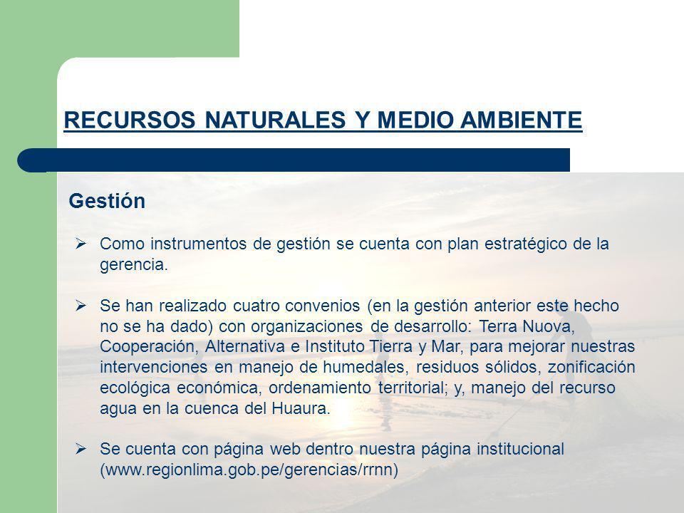 PROYECCIÓN 2008 Elaboración de base de datos sobre parámetros de calidad de agua y aire Establecimiento de estaciones de monitoreo Fomentar la gestión óptima de los residuos sólidos Promover en el ámbito regional la difusión y el cumplimiento de la legislación vigente referido al medio ambiente.