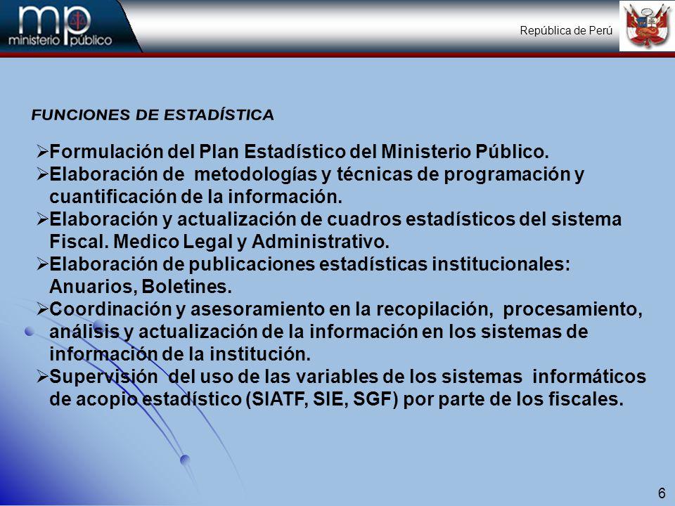 7 ORGANIZACIÓN Y FUNCIONES DE LA OFICINA DE RACIONALIZACIÓN Y ESTADÍSTICA DE RACIONALIZACIÓN Y ESTADÍSTICAORACE Cuenta con una organización interna, Sub gerencia de Normas y Procesos y Sub Gerencia de Estadística.
