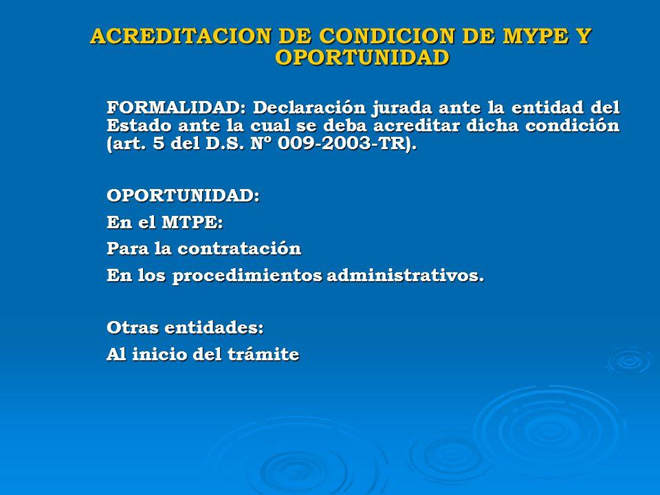 BENEFICIOS ANTE LA A.A.T. El monto de la multa se reduce en un 50%, cuando se trate de una MYPE conforme a la Ley 28015, Ley MYPE. Al 30% si subsana l