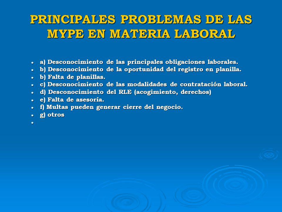 SIMPLIFICACION ADMINISTRATIVA LEY MARCO DE LICENCIA DE FUNCIONAMIENTO Ley Nº 28015, regula la licencia provisional para MYPE hasta 04 de julio del 200
