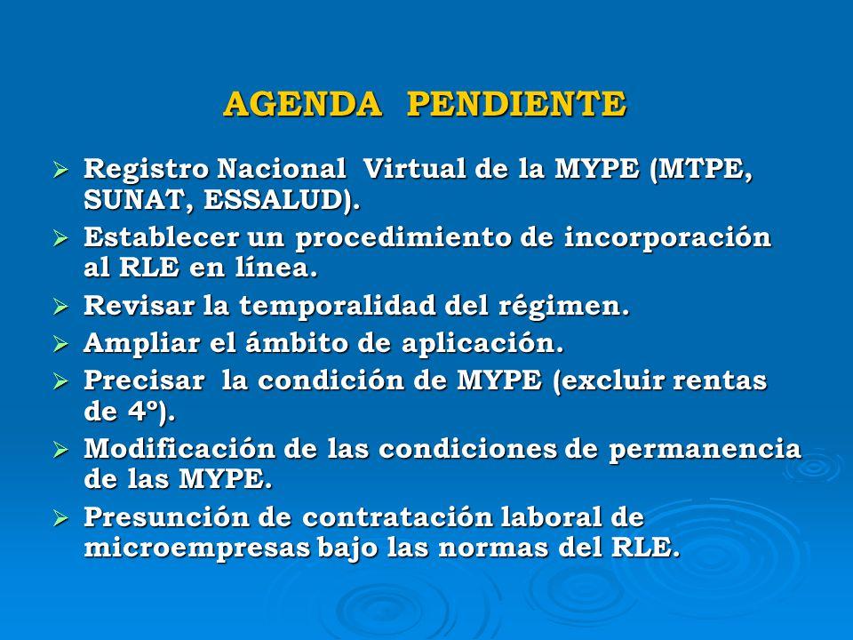 PRINCIPALES PROBLEMAS DE LAS MYPE EN MATERIA LABORAL a) Desconocimiento de las principales obligaciones laborales. a) Desconocimiento de las principal
