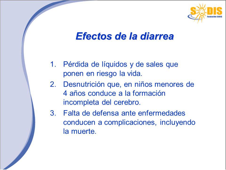 Opciones para la Desinfección en Casa del Agua para beber 1.Hervirla 2.Clorarla (1 gota de lejía por litro de agua) 3.Exponerla al Sol (SODIS) durante un día