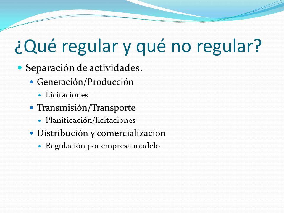 2. Autonomía de los organismos reguladores