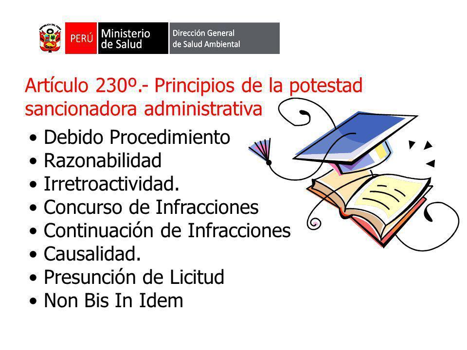 PRINCIPIO DE LEGALIDAD : SÓLO POR NORMA CON RANGO DE LEY CABE ATRIBUIR A LAS ENTIDADES LA POTESTAD SANCIONADORA Y LA CONSIGUIENTE PREVISIÓN DE LAS CONSECUENCIAS ADMINISTRATIVAS QUE A TÍTULO DE SANCIÓN SON POSIBLES DE APLICAR A UN ADMINISTRADO, LAS QUE EN NINGÚN CASO HABILITARÁN A DISPONER LA PRIVACIÓN DE LIBERTAD PRINCIPIO DE TIPICIDAD: SÓLO CONSTITUYEN CONDUCTAS SANCIONABLES ADMINISTRATIVAMENTE LAS INFRACCIONES PREVISTAS EXPRESAMENTE EN NORMAS CON RANGO DE LEY MEDIANTE SU TIPIFICACIÓN COMO TALES, SIN ADMITIR INTERPRETACIÓN EXTENSIVA O ANALOGÍA (…)
