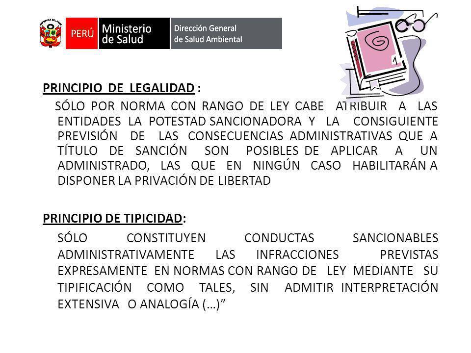 PRINCIPIO DE LEGALIDAD : SÓLO POR NORMA CON RANGO DE LEY CABE ATRIBUIR A LAS ENTIDADES LA POTESTAD SANCIONADORA Y LA CONSIGUIENTE PREVISIÓN DE LAS CON