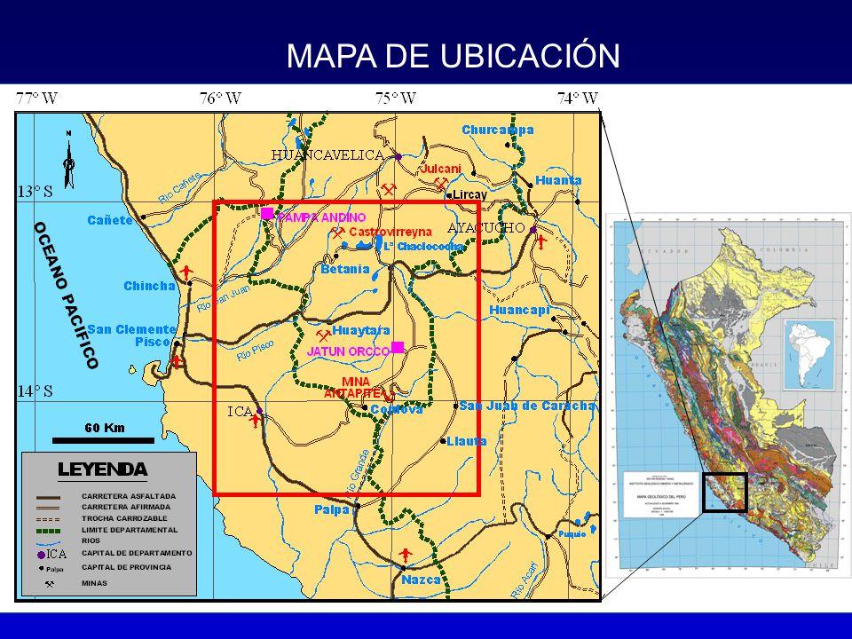 MAPA ESTRUCTURAL - ANTAPITE Plumbotectónica - Thoriogénico 18.6 27.1 19.9 18.7 Referencia: Angeles (2000)