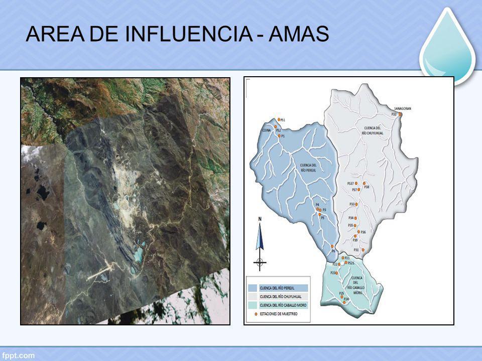 AREA DE INFLUENCIA - AMAS