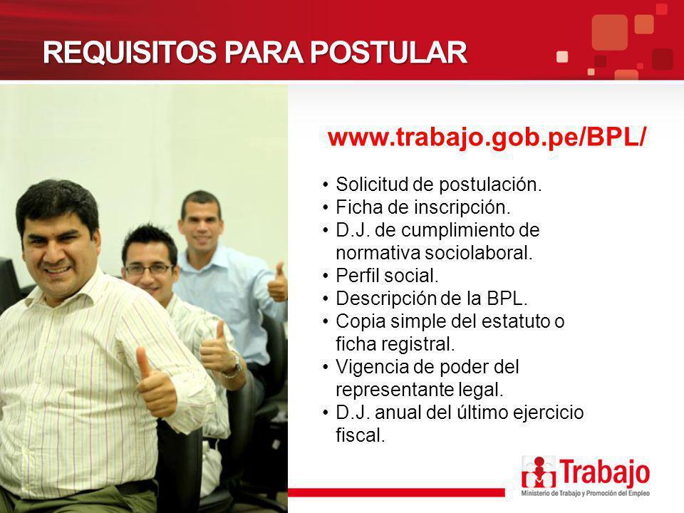 BENEFICIOS Comunicación oficial a las áreas de comercio de las embajadas de países con los cuales el Perú tiene relaciones comerciales (EE.UU., Canadá, etc.).