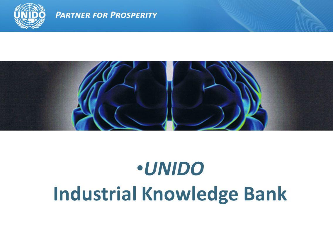 UNIDO Industrial Knowledge Bank