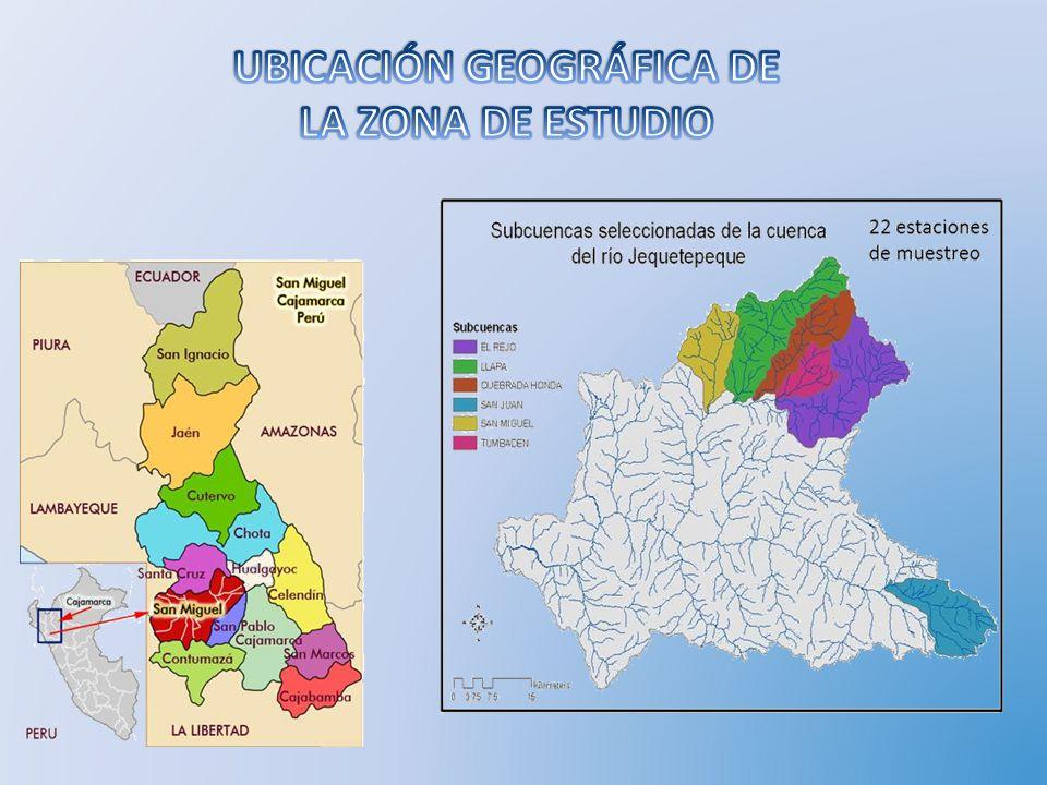 Subcuenca de Tumbadén Representa la mayo carga acuífera de la cuenca.