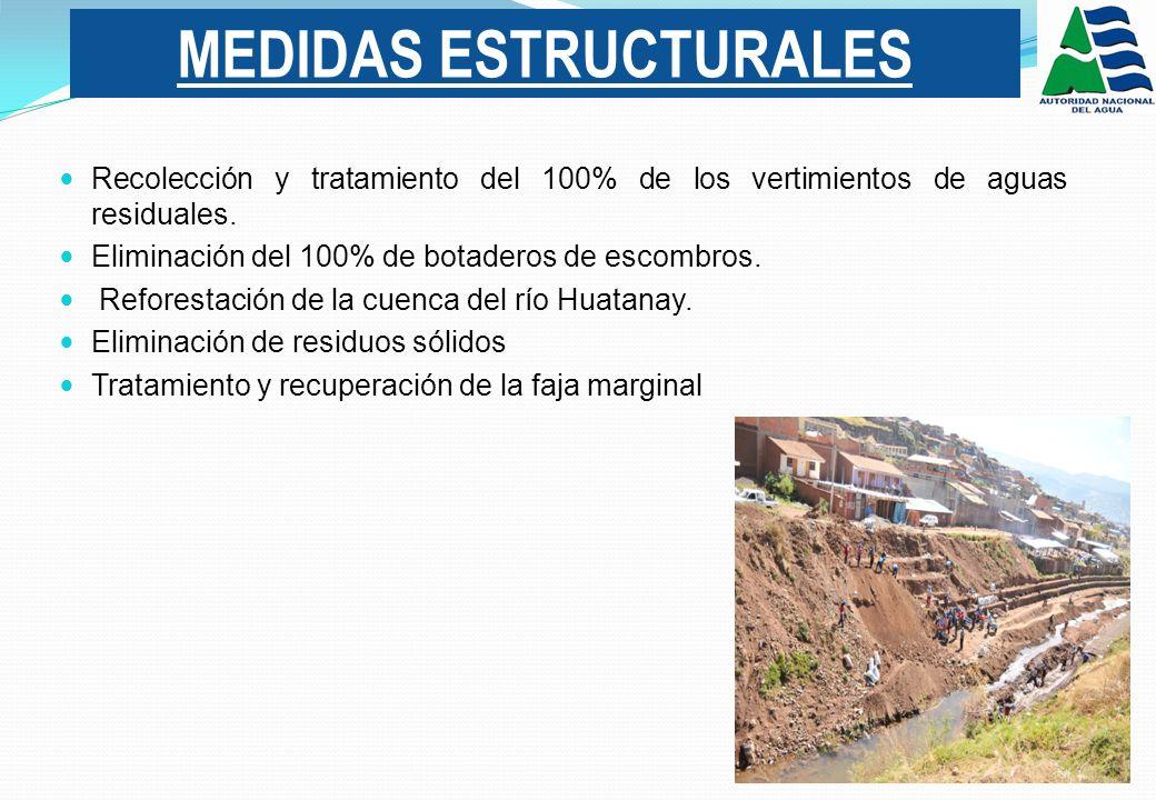 Recolección y tratamiento del 100% de los vertimientos de aguas residuales.