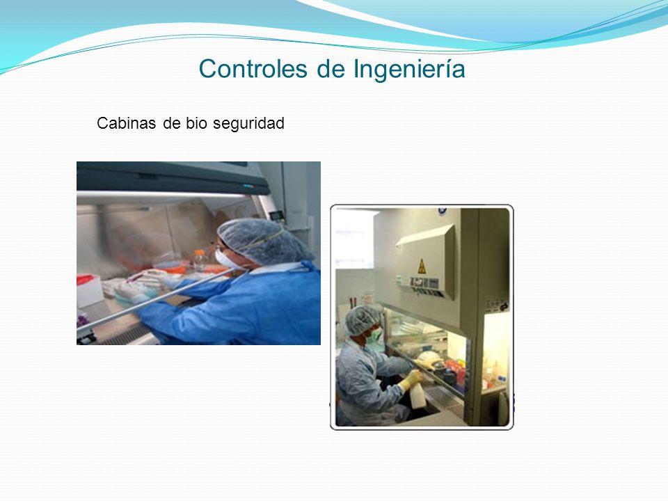 Controles de Ingeniería Cabinas de bio seguridad