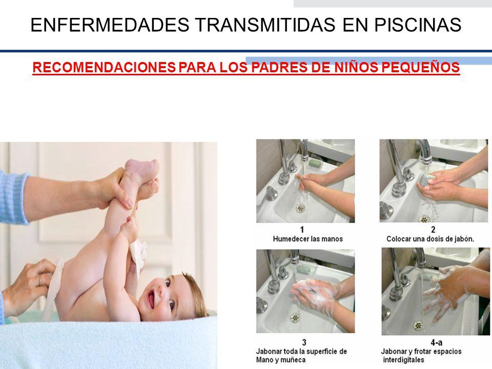 ENFERMEDADES TRANSMITIDAS EN PISCINAS RECOMENDACIONES PARA LOS PADRES DE NIÑOS PEQUEÑOS