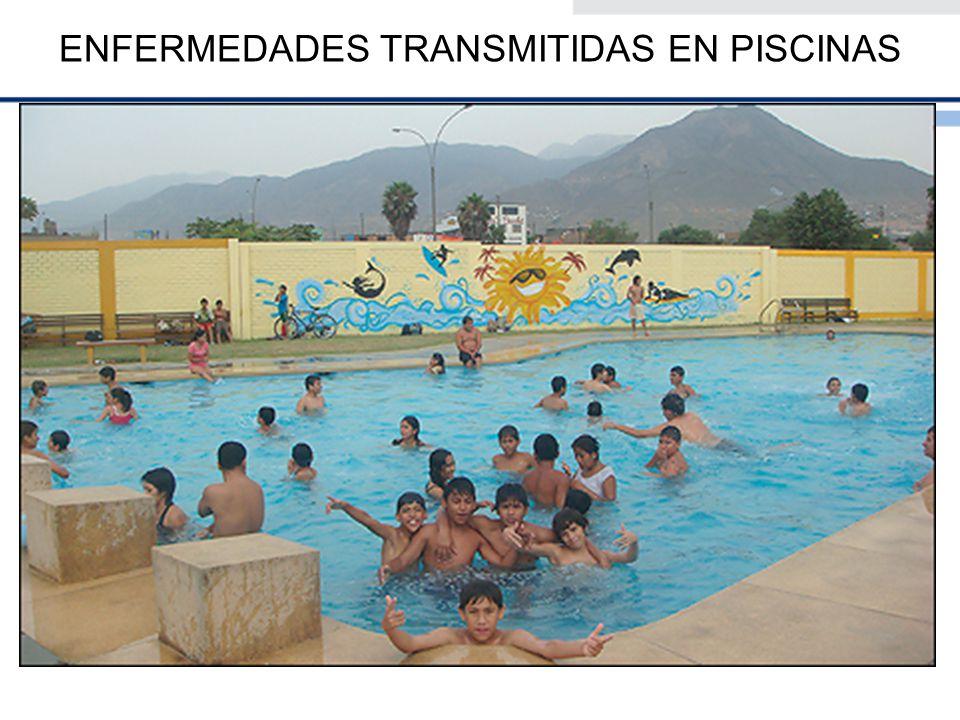 Es muy frecuente en época veraniega el aumento del uso de las piscinas públicas.